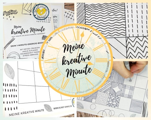 "Mein kostenloser Mini-Kurs ""Meine kreative Minute"""